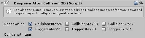 Despawn Collision2D